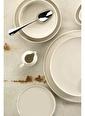 Kütahya Porselen Chef Taste Of 28 Cm Düz Tabak Krem Krem
